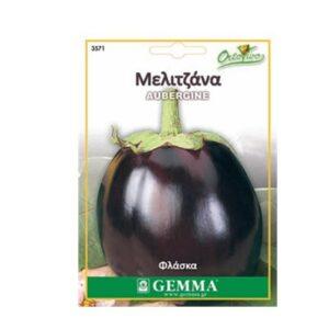 Μελιτζάνα φλάσκα μαύρη 3571