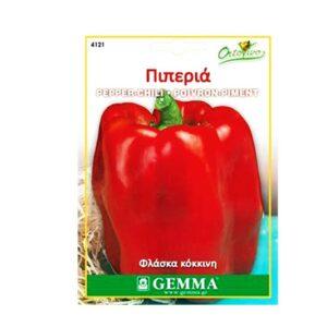 Πιπεριά φλάσκα κόκκινη 4121