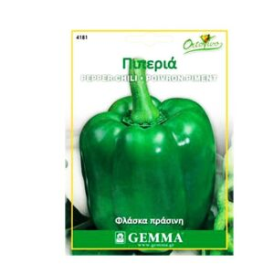 Πιπεριά φλάσκα πράσινη 4181