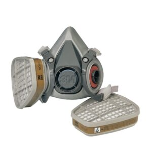 Μάσκα μισού προσώπου 6200 με φίλτρα 6057 ΑΒΕ1 3M™