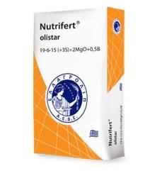 Nutrifert olistar 19-6-15 (7) +2MgO +0,5B 25kg
