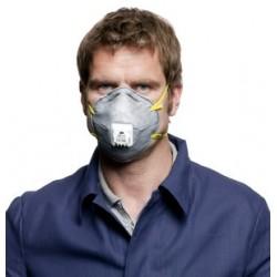 Μάσκα ενεργού άνθρακα με βλαβίδα εκπνοής 3M ™