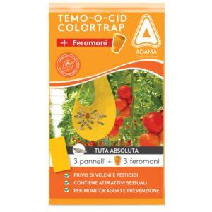 Χρωμοελκυστικές παγίδες εντόμων TEMO-O-CID (κίτρινες) 40 x 24cm -10τεμ.