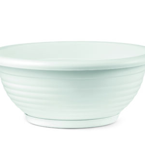 Πιατέλα Napoli με ενσωματωμένο πιάτο (χρώμα Λευκό)