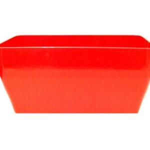 Ζαρτινιέρα κασπώ Living (χρώμα Κόκκινο)