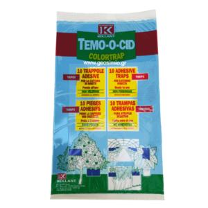 Χρωμοελκυστικές παγίδες εντόμων TEMO-O-CID (μπλε) 40 x 24cm -10τεμ.