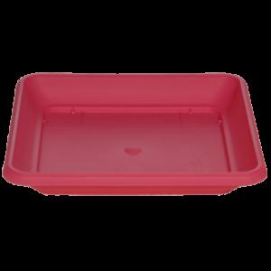 Πιάτο τετράγωνο (χρώμα Φούξια)
