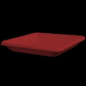 Πιάτο τετράγωνο (χρώμα Γκρενά)