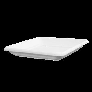Πιάτο τετράγωνο (χρώμα Λευκό)