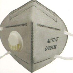 Μάσκα μιας χρήσης ενεργού άνθρακα (με βαλβίδα)