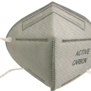 Μάσκα μιας χρήσης ενεργού άνθρακα (χωρίς βαλβίδα)