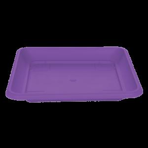 Πιάτο τετράγωνο (χρώμα Μωβ)