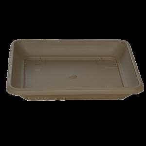 Πιάτο τετράγωνο (χρώμα Καραμελέ)