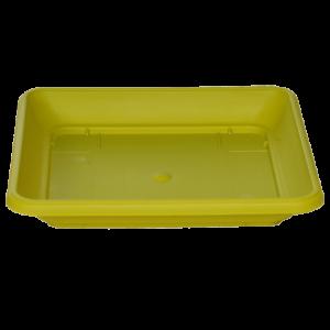 Πιάτο τετράγωνο (χρώμα Λεμονί)