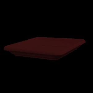 Πιάτο τετράγωνο (χρώμα Σοκολά)