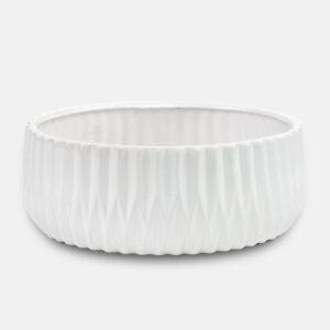 Πιατέλα Opus Λευκό