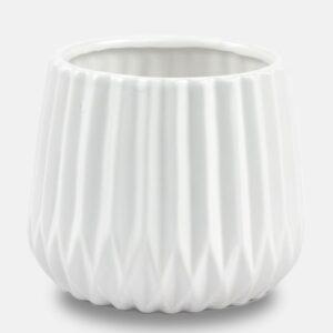 Κασπώ κάθετη ρίγα (χρώμα Λευκό)