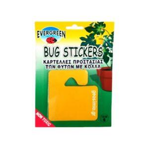 Καρτέλες προστασίας με κόλλα BUG STICKERS – 6 τμχ