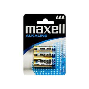 MAXELL Αλκαλικές Μπαταρίες AAA LR03, 4τμχ
