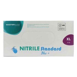 Γάντια νιτριλίου μιας χρήσεως- Nitrile standard (Μαύρο XL)